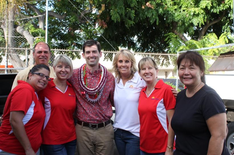 Mahalo to our wonderful APO volunteers!
