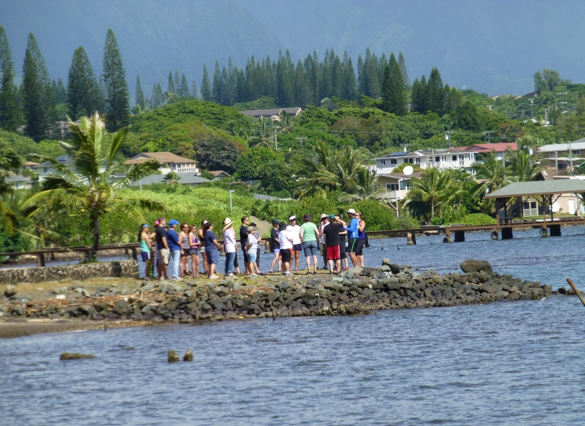 Learning the history of the Kaneohe ahupuaa